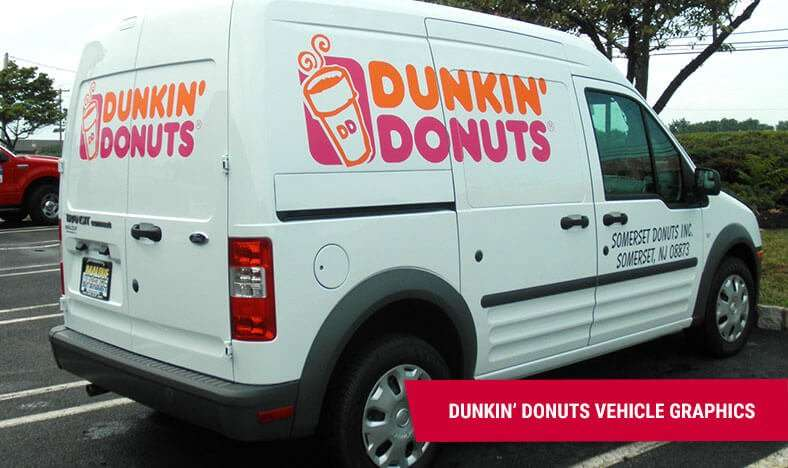 Car Wraps & Vehicle Wraps - Dunkin Donuts Piscataway NJ