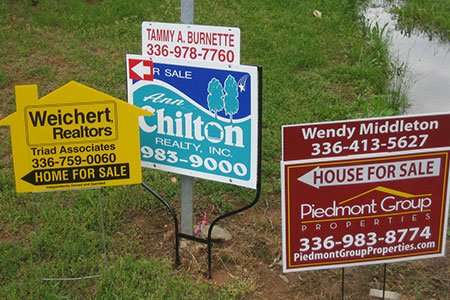 Real Estate Signs New Jersey & New York City