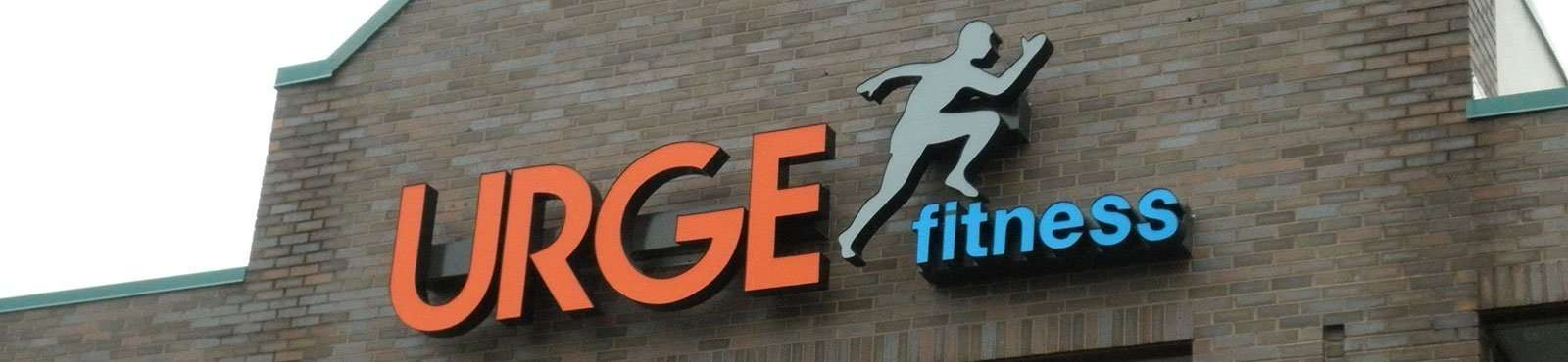 Custom Channel Letter Sign for Fitness Business