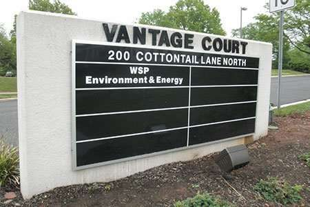 Exterior Outdoor Directory Signage