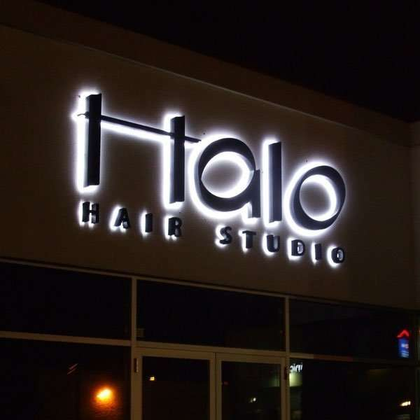 Halo Illuminated and Reverse Lit Channel Letter Signs