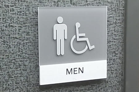 Indoor ADA Compliant Braille Signs