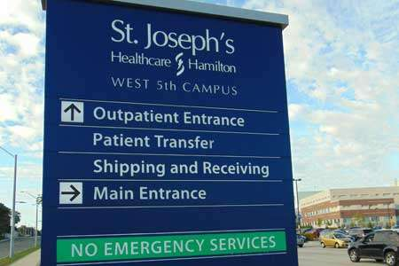 Medical Wayfinding Signs